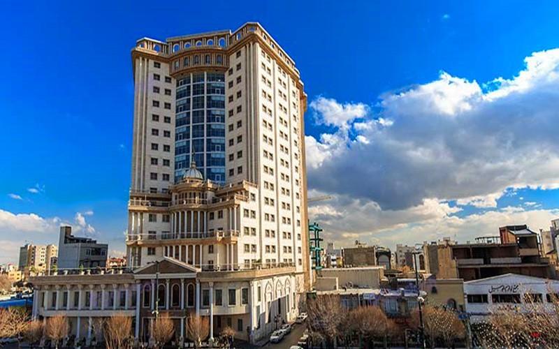 تور تبریز مشهد هتل قصر طلایی